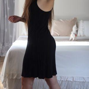 American Eagle Black Midi Dress